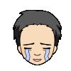 カワベ 泣き顔